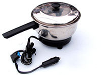 12V/24V Portable Frying Pan